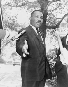 Orateur Martin Luther King