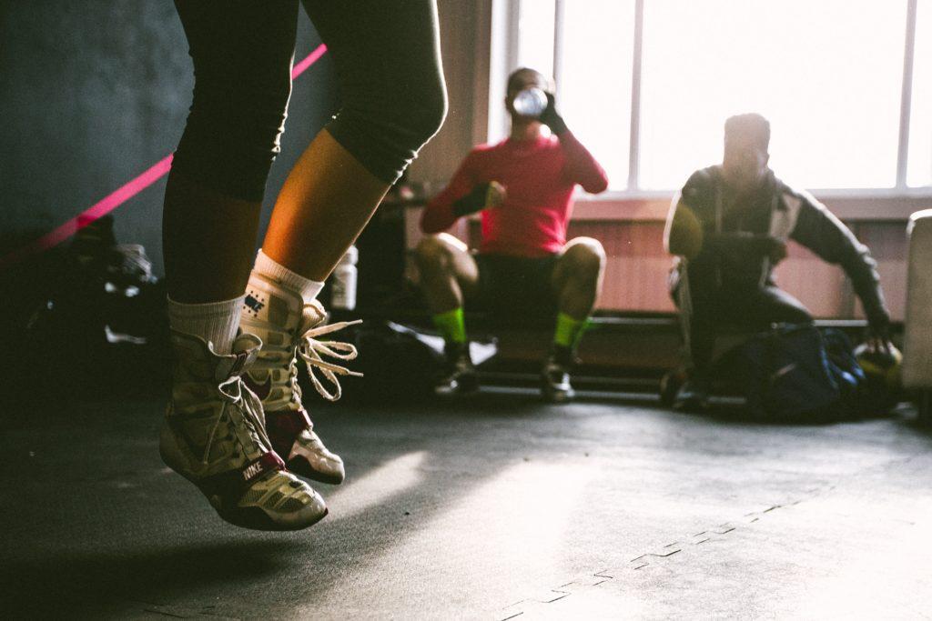 Méthode du boxeur contre les jambes qui tremblent