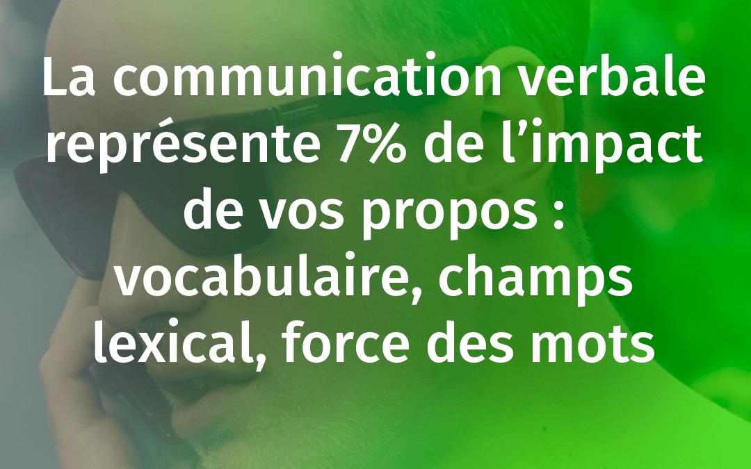 COMMENT AMÉLIORER SA COMMUNICATION VERBALE